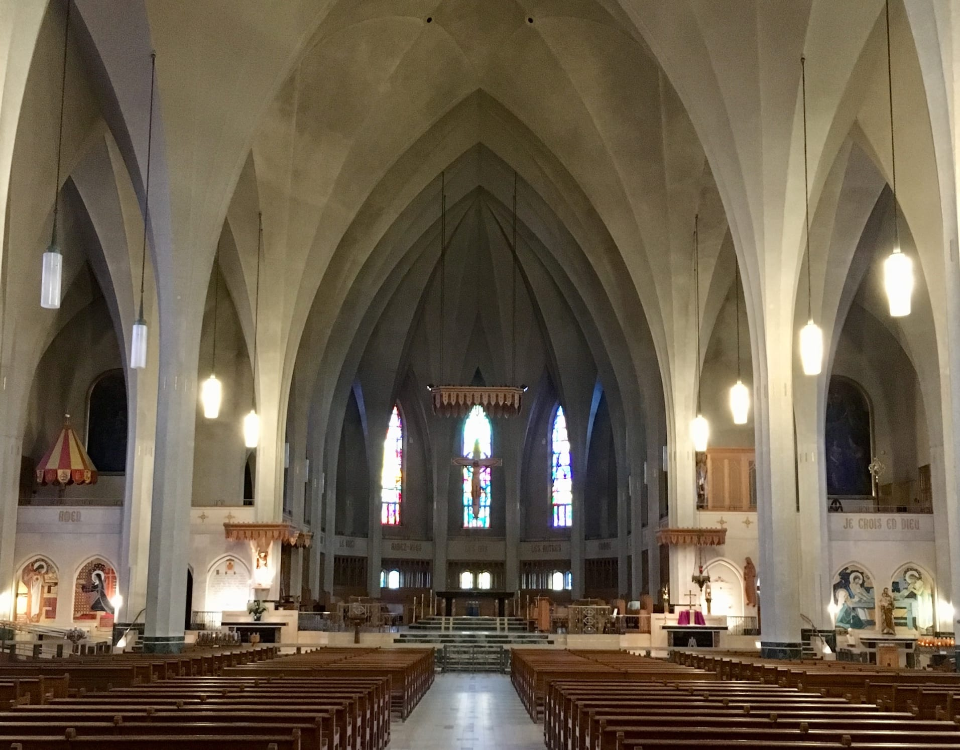 St-Michel Cathedral Basilica, Guided Tour